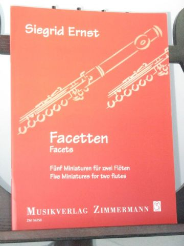 Ernst S - Facets - Five Miniatures for Two Flutes